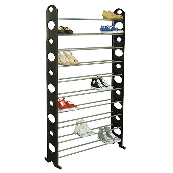 Image Is Loading Home Collections 50 Pair Show Tower Shoe Rack