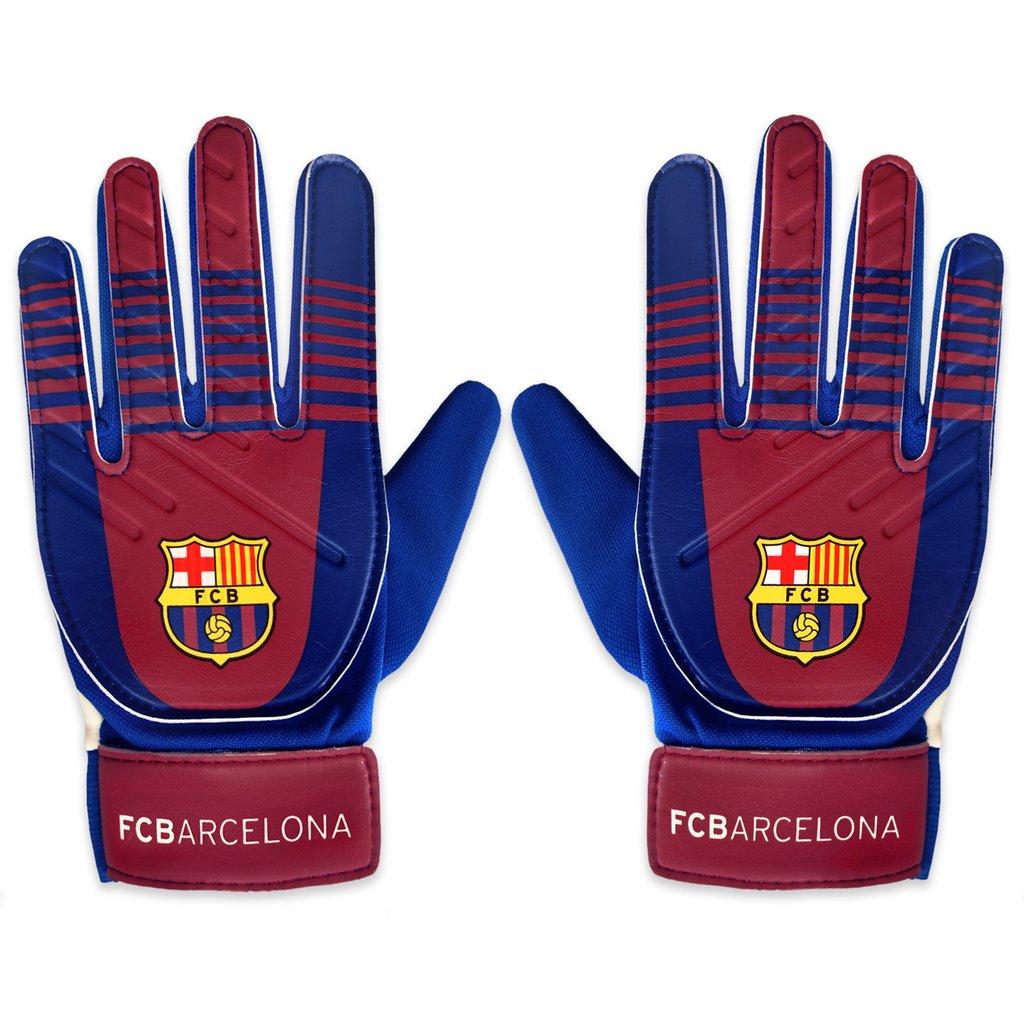 FC Barcelona Official Goalie Gloves Boys - XS 5053223188340  bae36a92c011