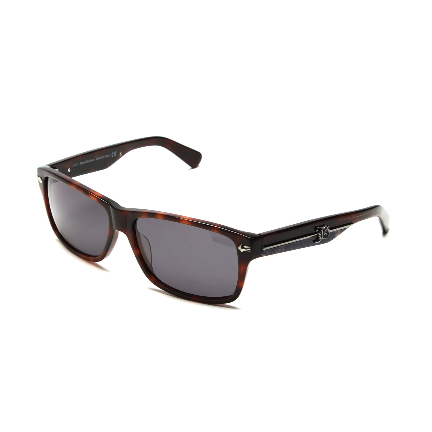 6448ceb5468 Details about John Galliano Dark Havana Sunglasses JG0046 52A Smoke Lens  Made in Italy