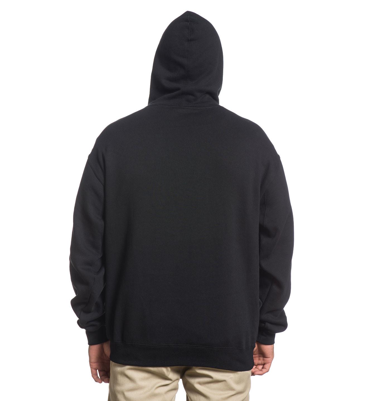 Sullen Art Collective Rock Badge Fleece Hoodie Sweatshirt