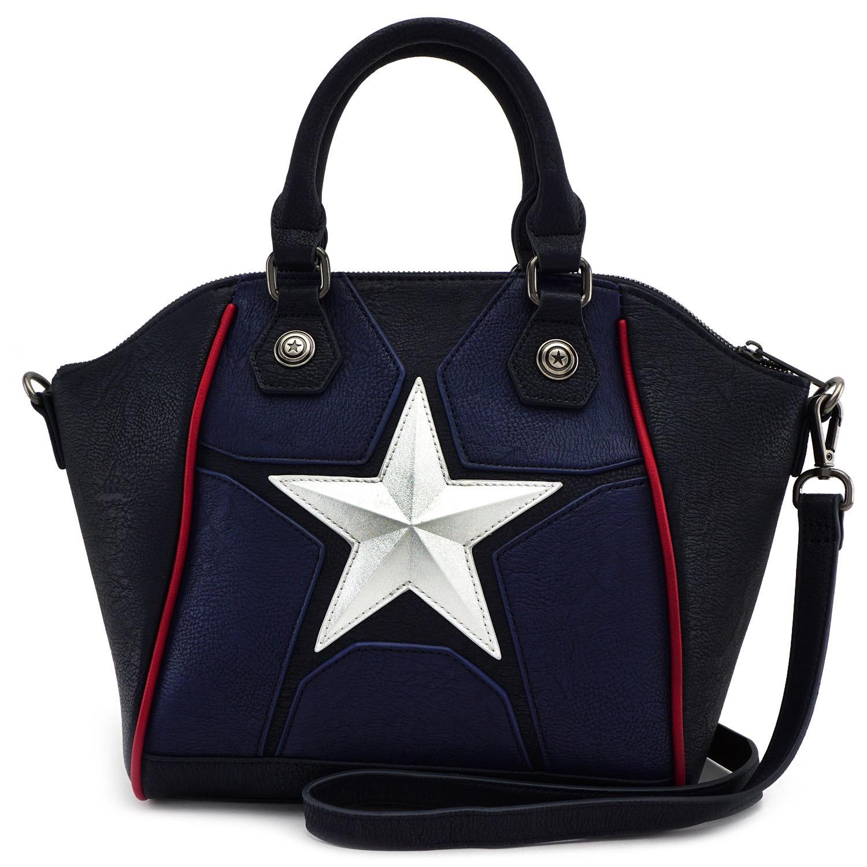 Loungefly Marvel Captain America Cosplay Crossbody Bag 671803259089 ... ebafbe75a2371