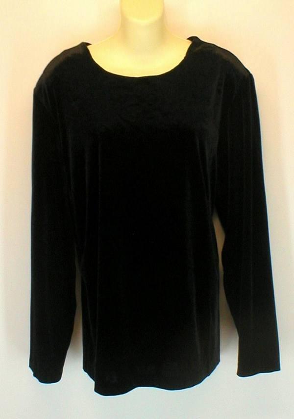 alucard77 : Womens Plus Size Clothes 2X Shirt Top Black ...