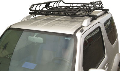 The Coverhouse New Deluxe Roof Mount Basket Cargo