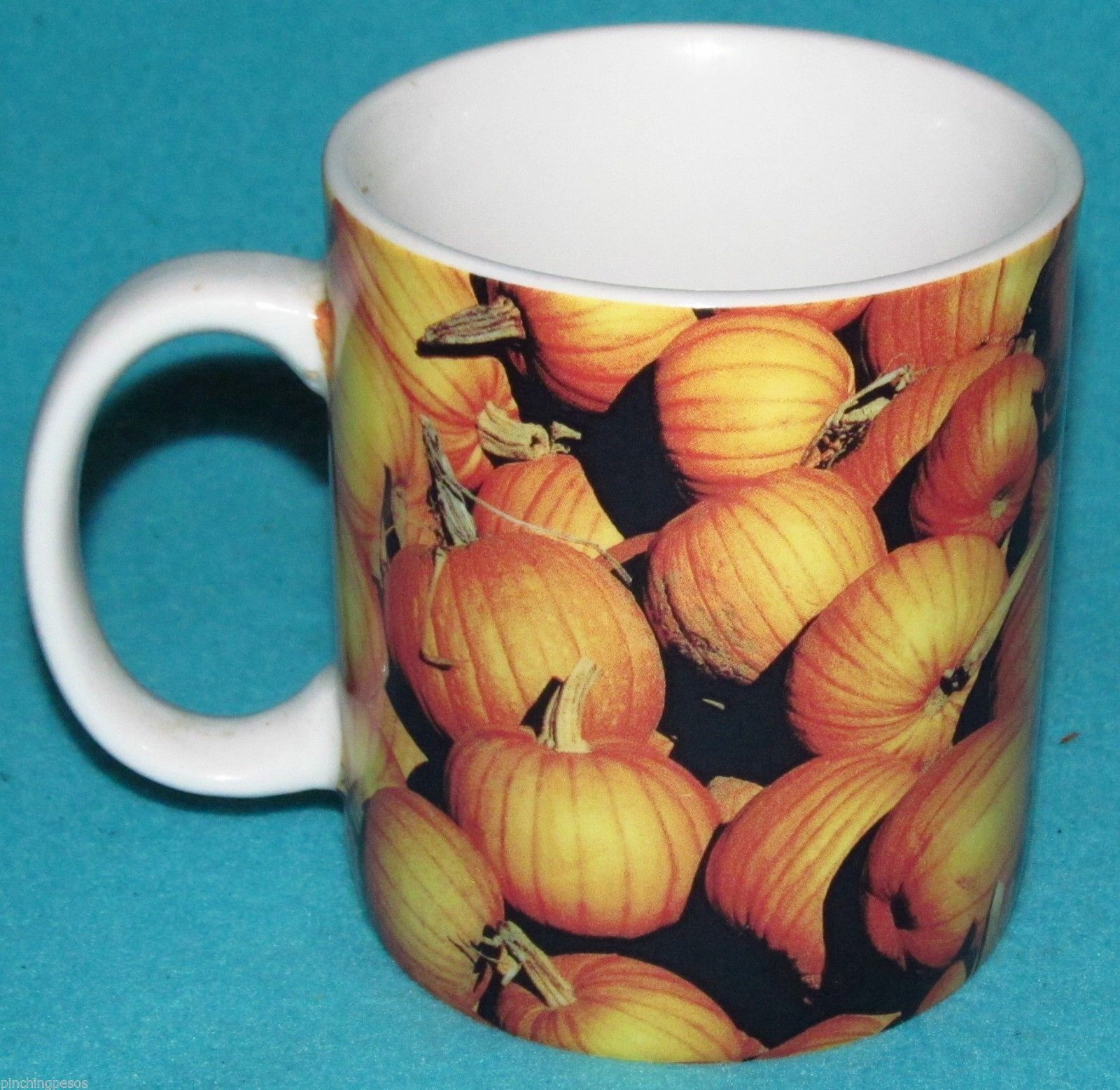 starbucks pumpkins spice halloween coffee mug grande cup 16oz large