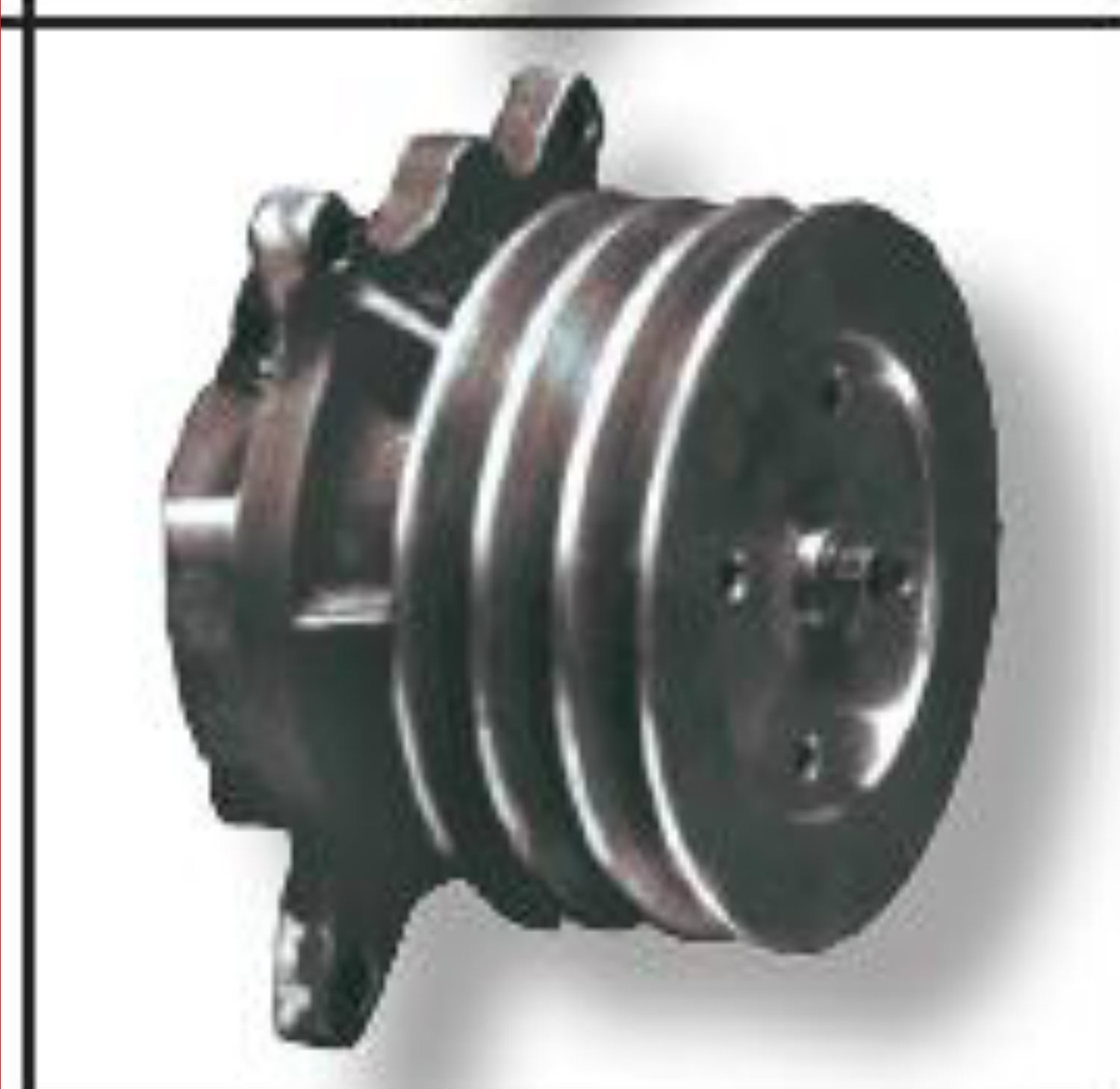 power products 6002-pp new water pump for cat 3208 diesel ... 318 engine pulley diagram