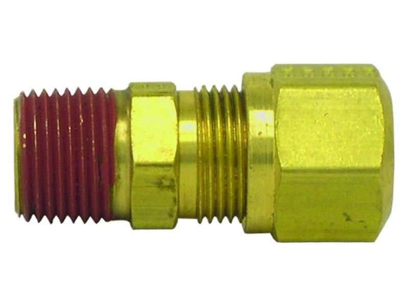 Dot nylon air brake tubing fittings male connector