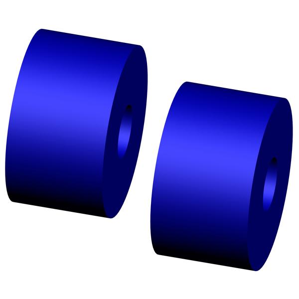 Fifth Wheel Bushings : One pair atro pl poly polyurethane fifth wheel bushing
