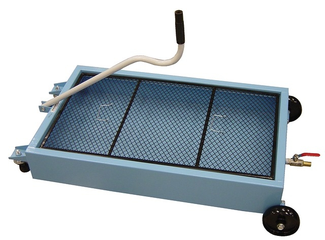 15 Gallon Low Profile Oil Drain Pan Steel Construction Ebay