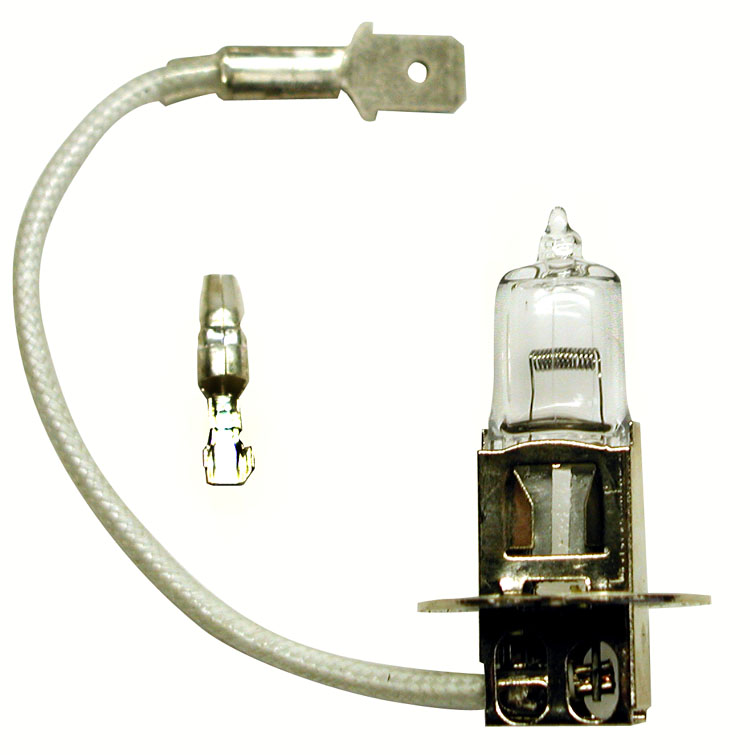 Five Peterson Vh549 12v 100 Watt H3 Halogen Offroad Light Lamp Bulbs Bulb Ebay