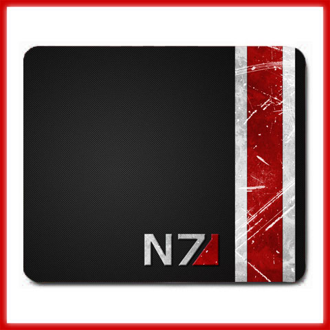 What Stores Accept Paypal Credit >> ibuharyati : New Mass Effect N7 Logo Large Mouse Pad