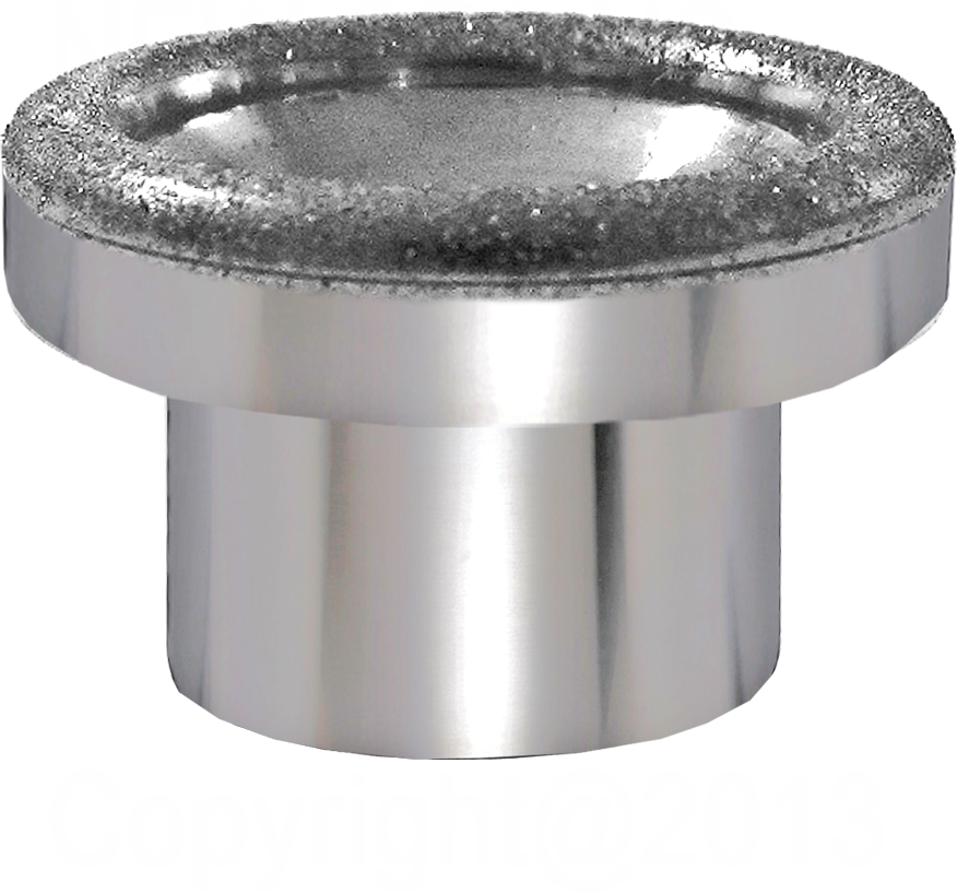Diamond microdermabrasion tip 23mm, D80