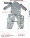 Heating suit for dry heat therapy body treatment