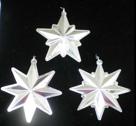 Wallace Christmas Stars Sterling Silver Ornaments