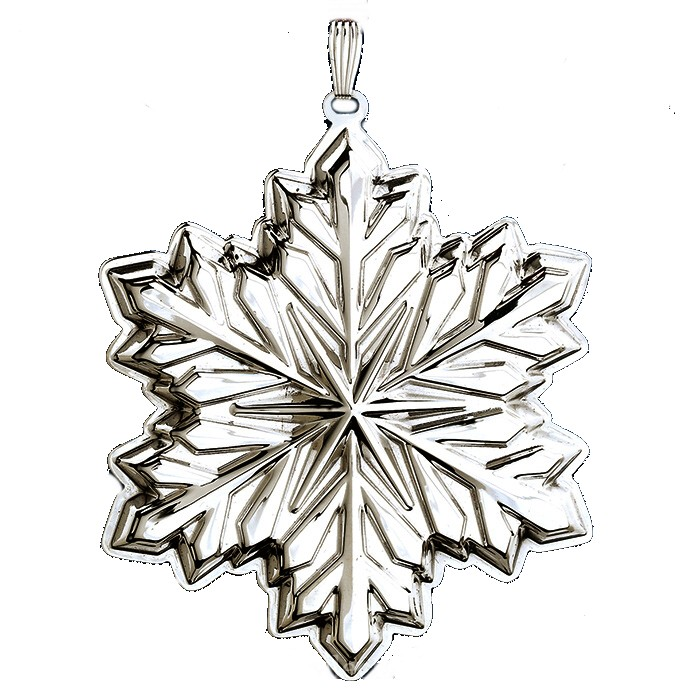 2014 Holiday Snowflake Sterling Christmas Ornament