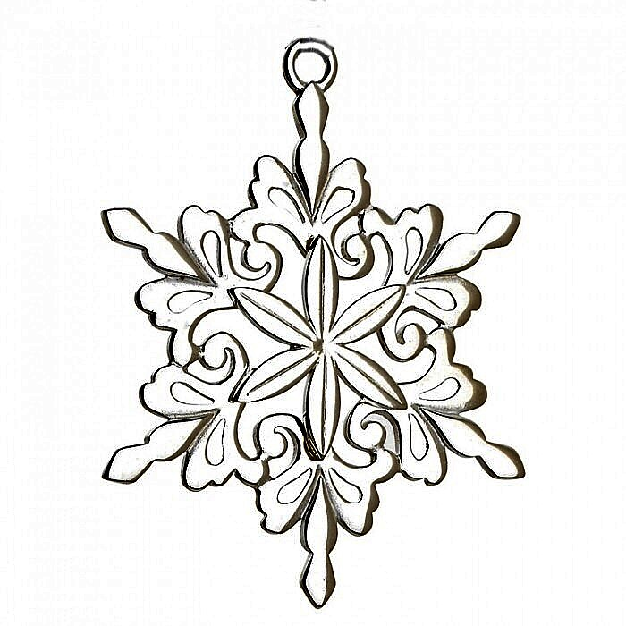 Lunt Snowflake 2013 Sterling Silver Christmas Orna