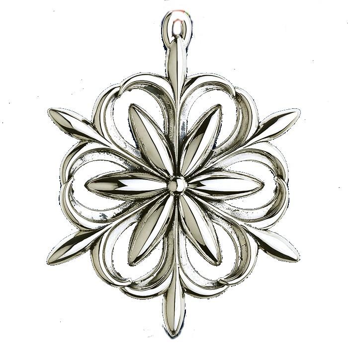 2014 Williamsburg Snowflake Sterling Christmas Orn