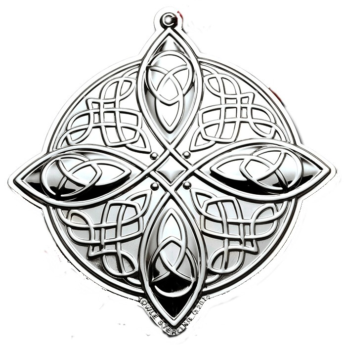 2014 Towle Celtic Knot Sterling Silver Christmas O