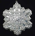 Towle Old Master Snowflake 1995 Sterling Christma