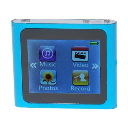 """Designer's Mini 1.8"""" Touch Screen LCD Clip MP3/MP4"""