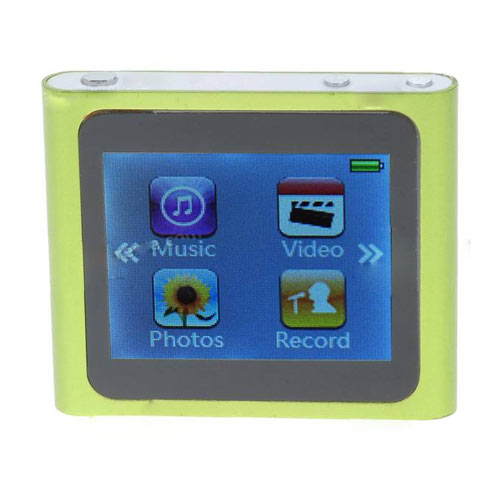 "Designer's Mini 1.8"" Touch Screen LCD Clip MP3/MP4"