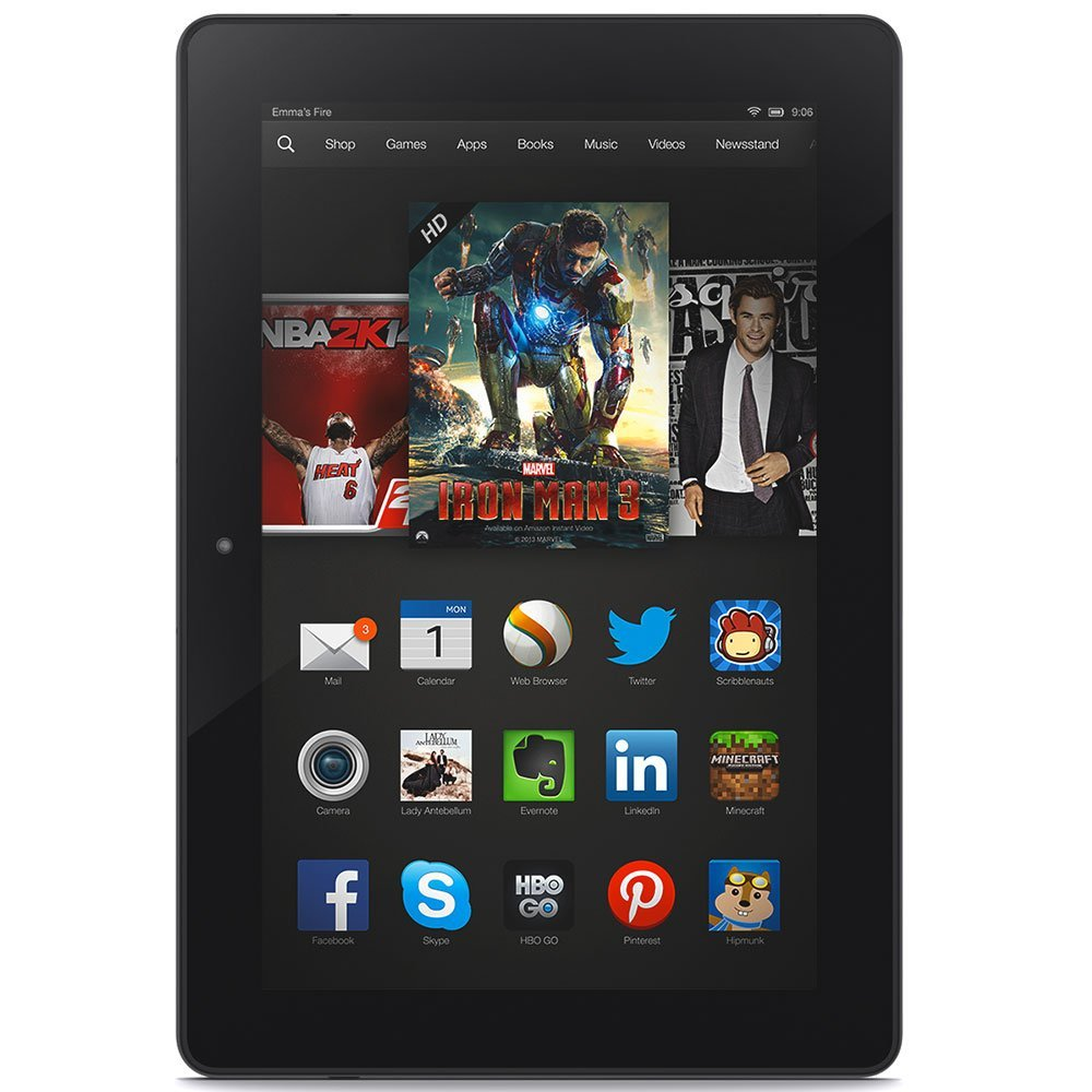 "Kindle Fire HDX 8.9"" 32GB WiFi 4G LTE"