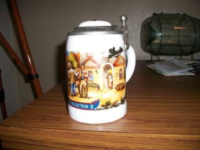 Bosseburt Stroh S Beer Stein Bavaria Collection Lidded Steins
