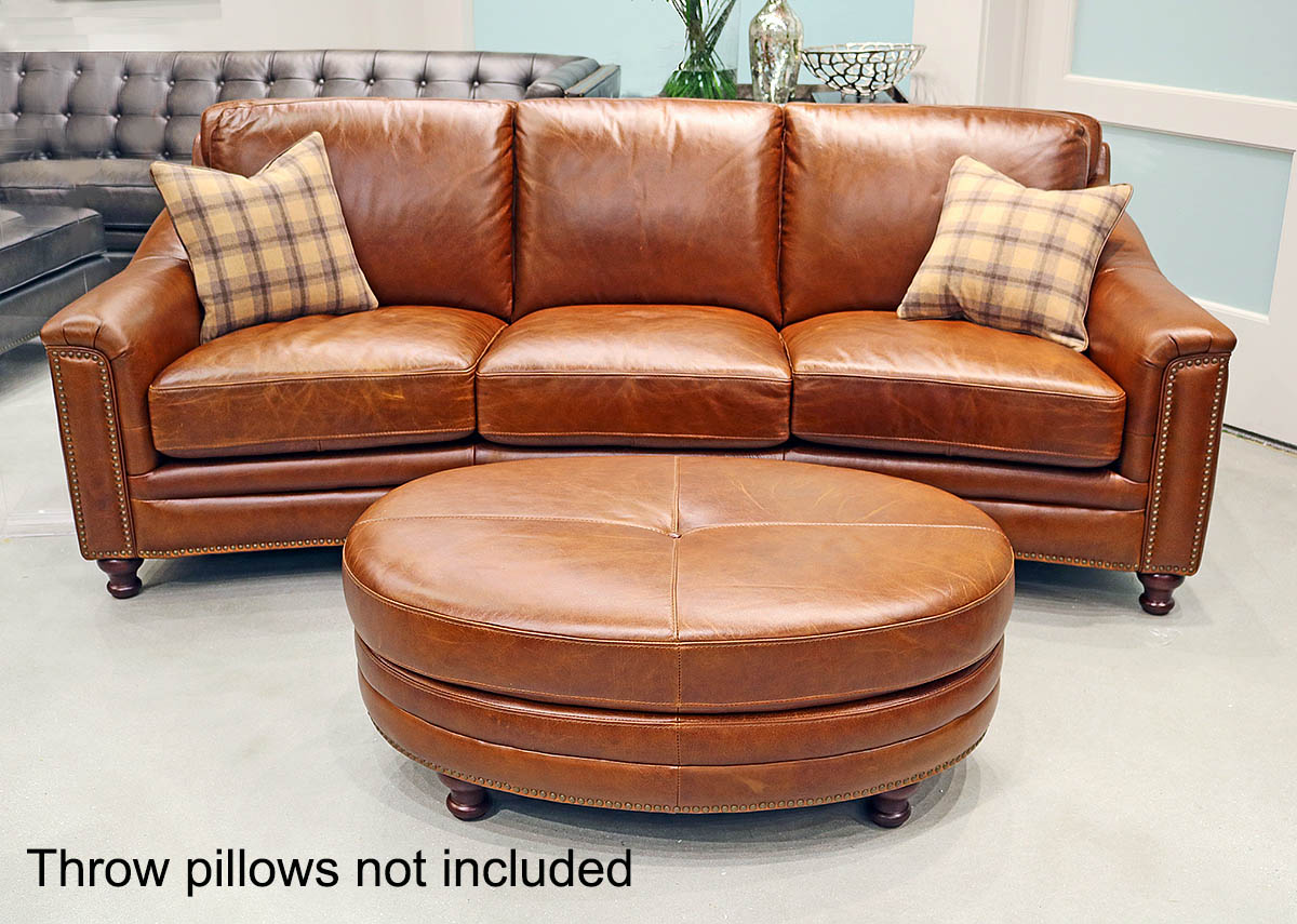 Details about New Art Deco Curved Sofa Couch Best Top Grain Leather Modern  Restoration Style