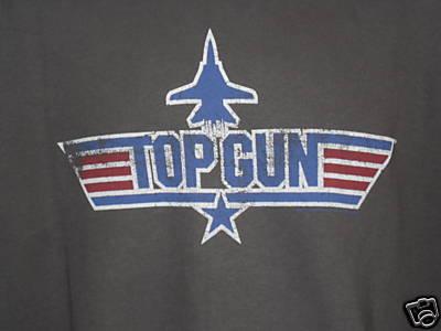 Truereddevil Top Gun Logo Maverick Official Retro