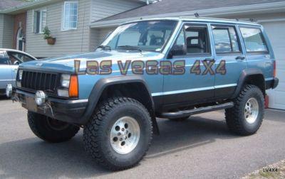 Las Vegas 4x4 1984 2001 Jeep Cherokee New Black Side