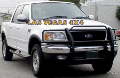 Las Vegas 4x4 99 03 Ford F150 Flareside 2wd Black Grill