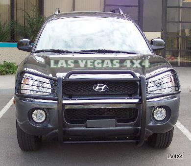 Las Vegas 4x4 01 06 Hyundai Santa Fe New Black Grill