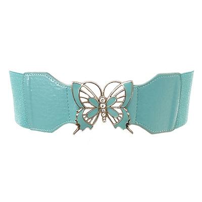 Butterfly Cutout Stretch Belt