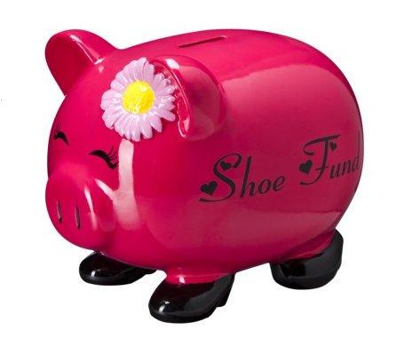 """Shoe Fund"" Piggy Bank"