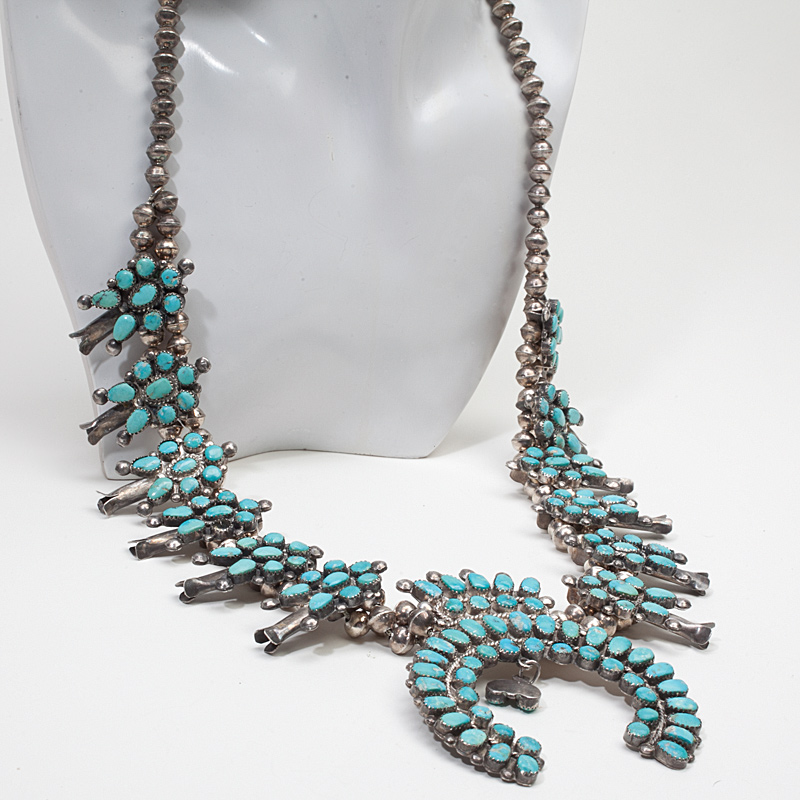 Vintage Turquoise Necklace 31
