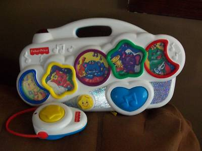 Richangel12 Fisher Price Infant Baby S Musical Crib Toy
