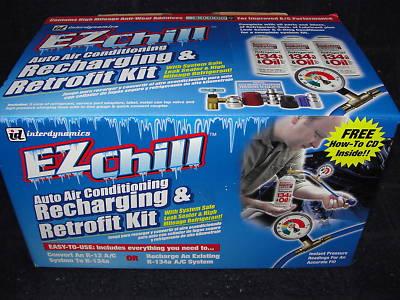 toneyboy1974 : EZ CHILL Auto A/C Recharging and Retrofit Kit