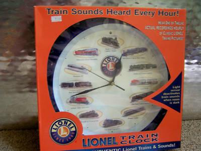Lionel train clock parts online