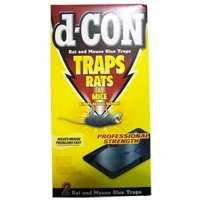 D-CON GLUE TRAPS PACK OF 2 TRAPS