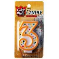 CAKE MATE NUMERAL CANDLE