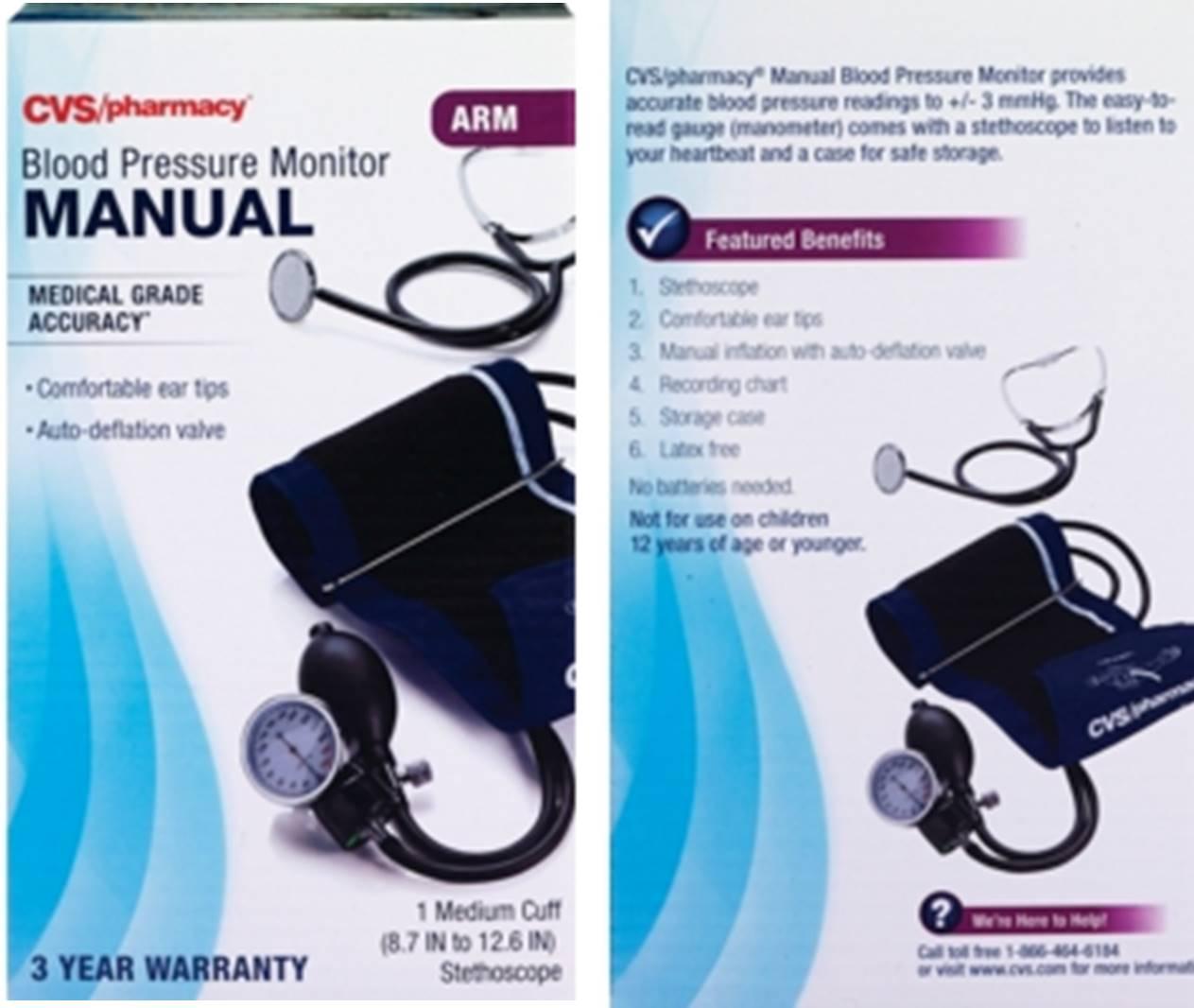 Vive Precision Blood Pressure Cuff Manual Guide