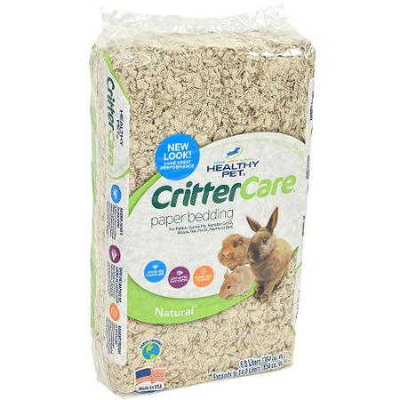 CRITTER CARE NATURAL PET BEDDING - 14 LITERS