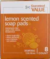 STEEL WOOL LEMON SOAP PADS