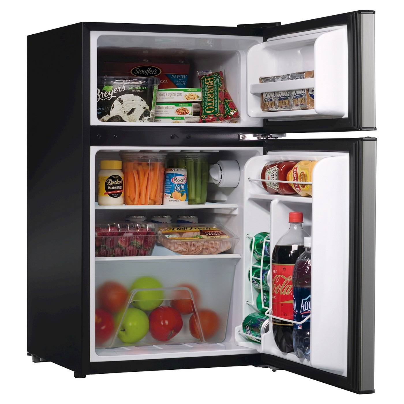 Whirlpool® 3.1 cu ft Mini Refrigerator Stainless
