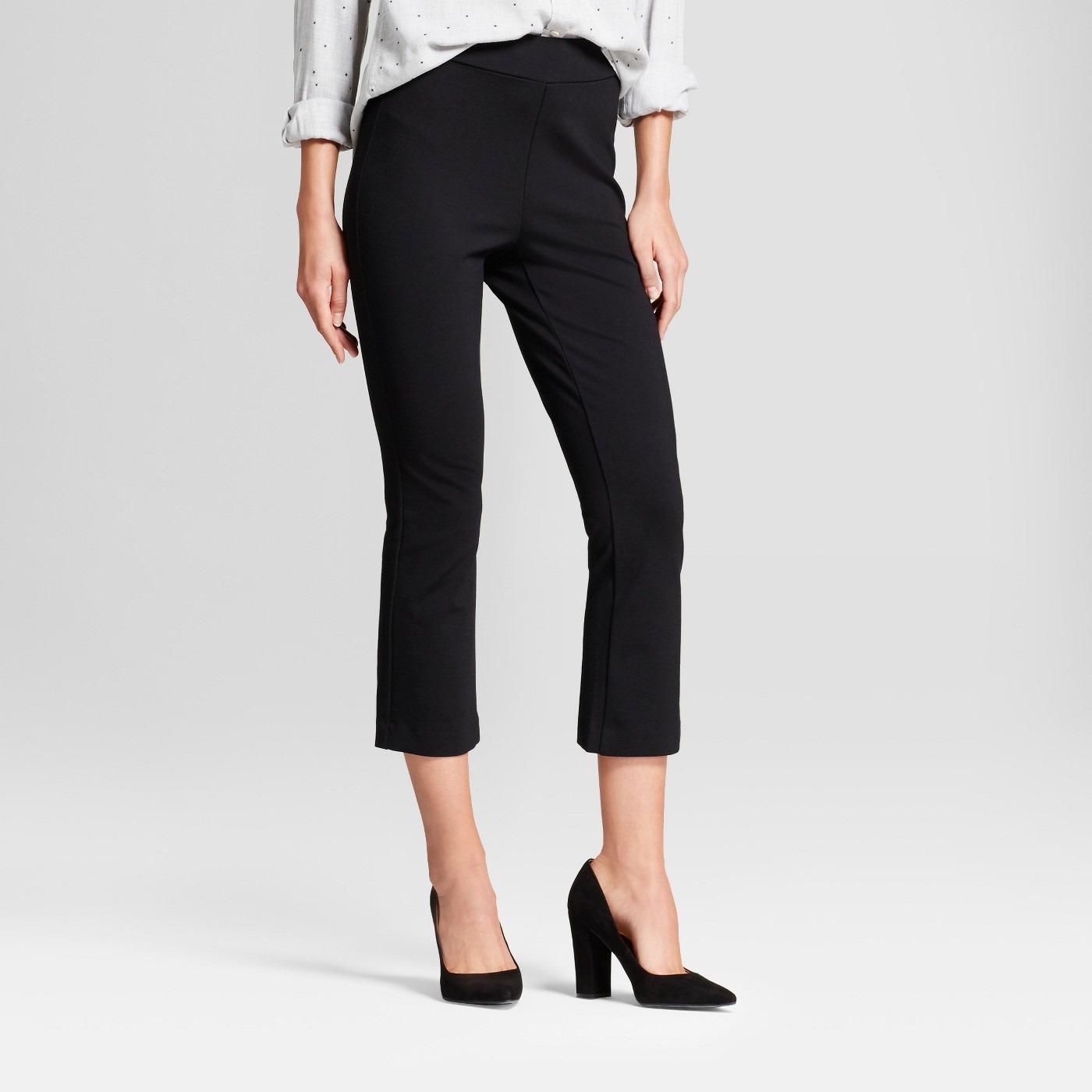Women's Kick Flare Ponte Pants - A New Day™