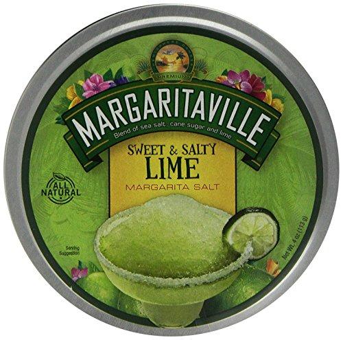 MARGARITAVILLE SWEET & SALTY LIME MARGARITA SALT 4