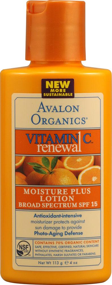 AVALON AVALON ORGANICS SUN-AGING DEFENSE LOTION -