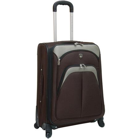TRAVELERS CLUB EXPANDABLE 4 WHEEL SPINNER LUGGAGE
