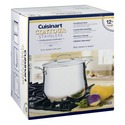 Cuisinart Contour Stainless 12 Quart Stockpot with