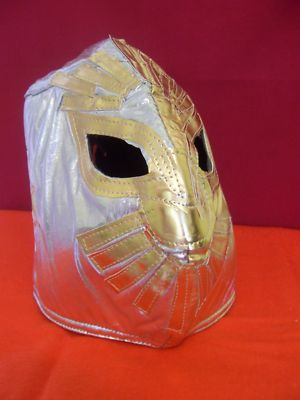 sin cara mask design. sin cara mask off. this