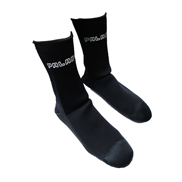 Spearfishing Scuba Dive Palantic Black 3mm Neoprene Socks Extra Warmth